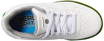 Skechers Jungen Energy Lights Elate Sneaker, Weiß (White), 38 EU - 8