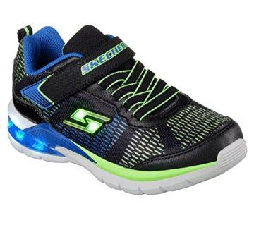 Skechers Jungen Erupters Ii Sneaker, Schwarz (Black/Blue/Lime Bblm), 32 EU - 1