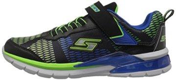 Skechers Jungen Erupters Ii Sneaker, Schwarz (Black/Blue/Lime Bblm), 32 EU - 5