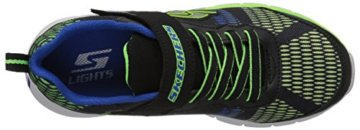 Skechers Jungen Erupters Ii Sneaker, Schwarz (Black/Blue/Lime Bblm), 32 EU - 8