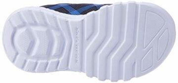 Skechers Jungen Flex-Glow-90542L Sneaker, Schwarz (Black Blue Lime Bblm), 29 EU - 3