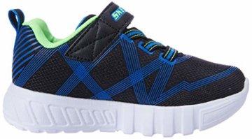 Skechers Jungen Flex-Glow-90542L Sneaker, Schwarz (Black Blue Lime Bblm), 29 EU - 6