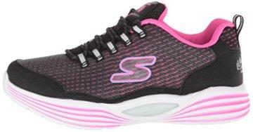 Skechers Mädchen Luminators Luxe Sneaker, Schwarz (Black/Pink Bkpk), 37 EU - 5