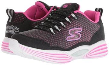 Skechers Mädchen Luminators Luxe Sneaker, Schwarz (Black/Pink Bkpk), 37 EU - 6