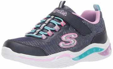 Skechers Mädchen Power Petals Sneaker Sneaker Größe 29 EU Blau (blau) - 1