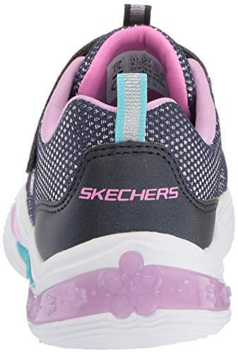 Skechers Mädchen Power Petals Sneaker Sneaker Größe 29 EU Blau (blau) - 2