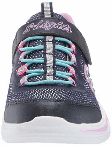 Skechers Mädchen Power Petals Sneaker Sneaker Größe 29 EU Blau (blau) - 4