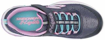 Skechers Mädchen Power Petals Sneaker Sneaker Größe 29 EU Blau (blau) - 7